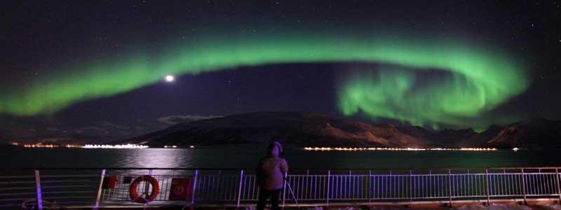 Noorderlicht met Hurtigruten