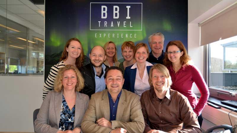 Het team van BBI Travel