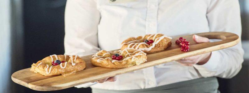 Multe bakery aan boord van Hurtigruten