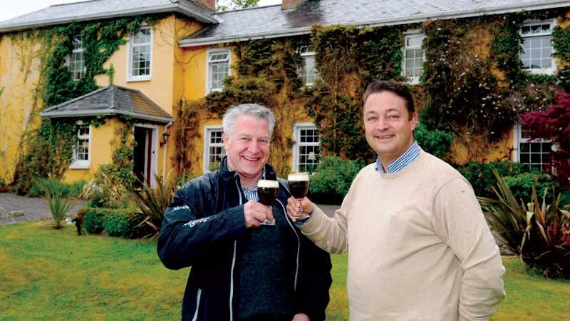 Henk van der Kooi en Fred Falkena BBI Travel Ierland Specialist