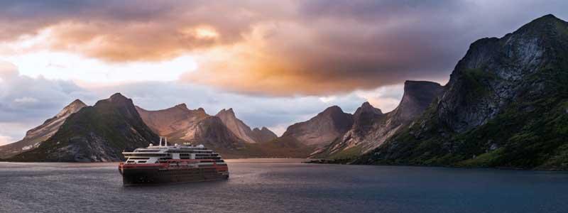 Expeditie reizen Hurtigruten