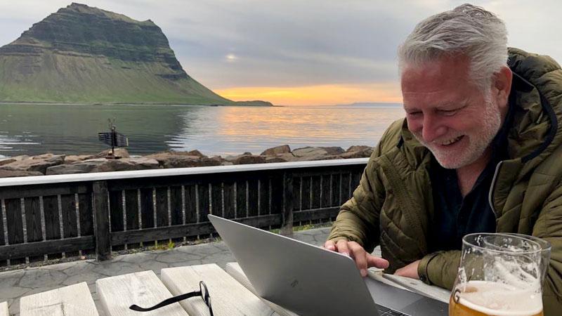 Fred Falkena 40 jarig jubileum bij BBI Travel
