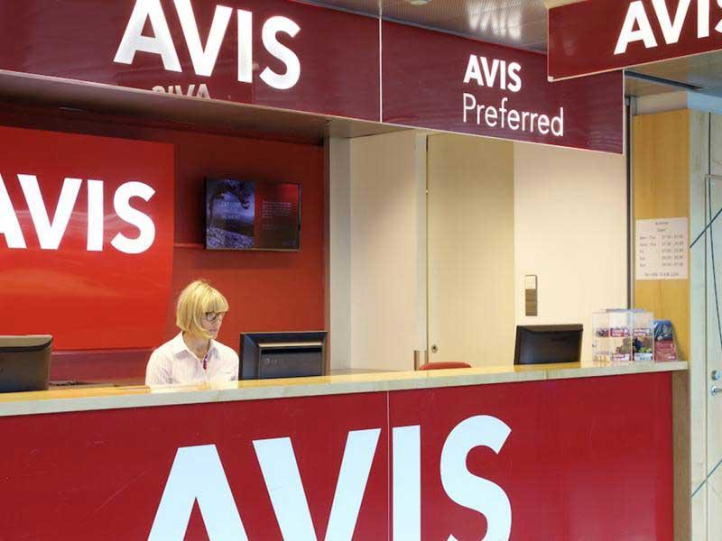 AVIS heeft veel verhuurstations in Zweden