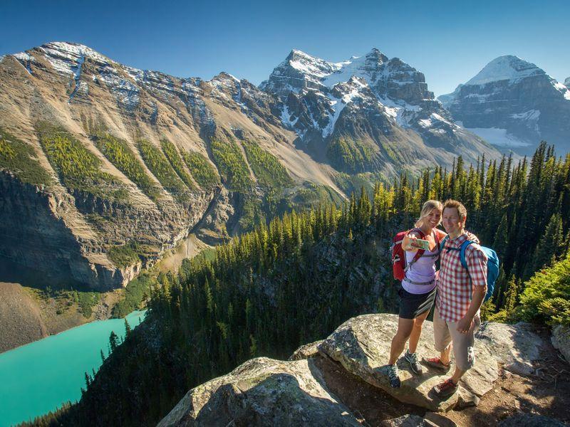 Rondreis 22-daagse camperrondreis Mountain Peaks Trail Verlengd met gereserveerde campingplaatsen in Diversen (Canada, Canada)