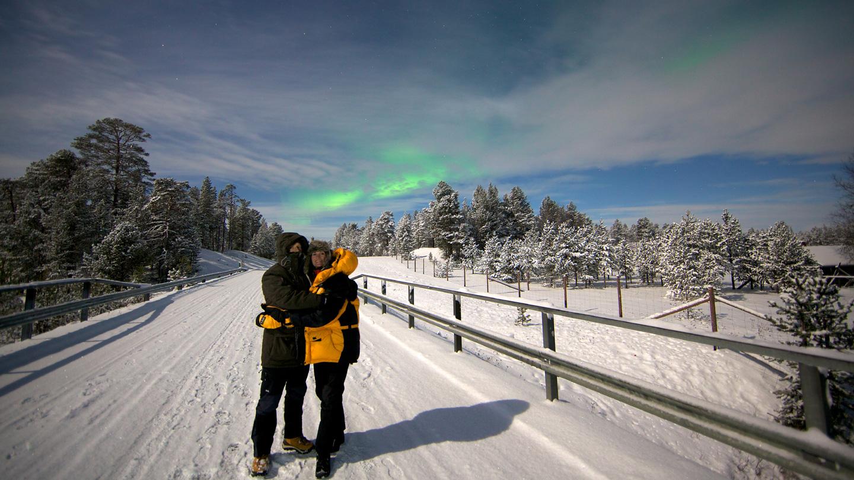 Mid-Januari-voordeel 8-dagen Saariselkä Lapland