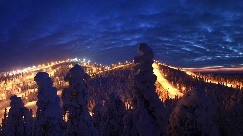 Januari-voordeel 2019 8-dagen Ruka, Lapland