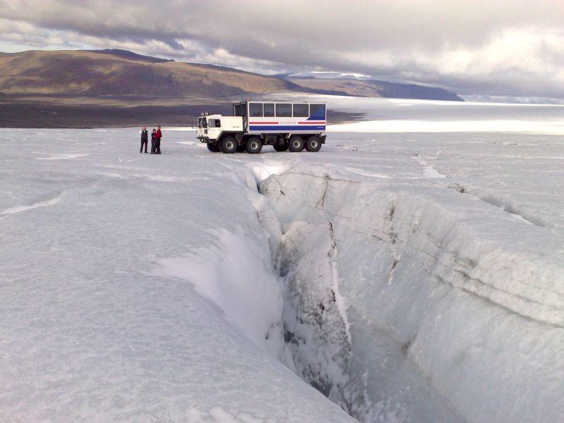 Vakantie 4-Daagse vliegreis Gletsjer Avontuur IJsland incl.excursies in Diversen (IJsland, IJsland)