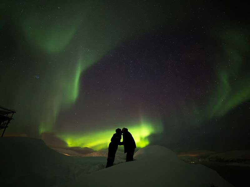Op zoek naar het noorderlicht, Tromso