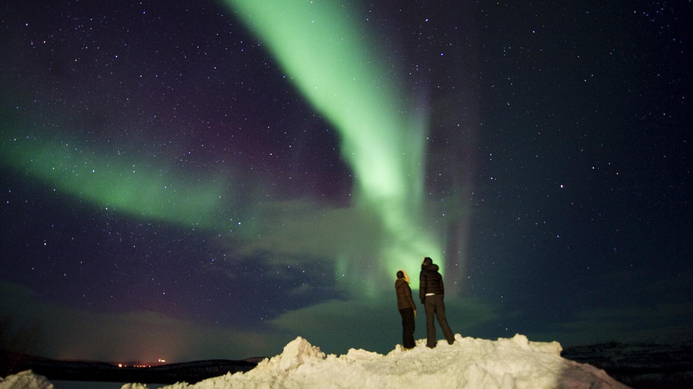 Noorderlicht dinercruise bij Tromso