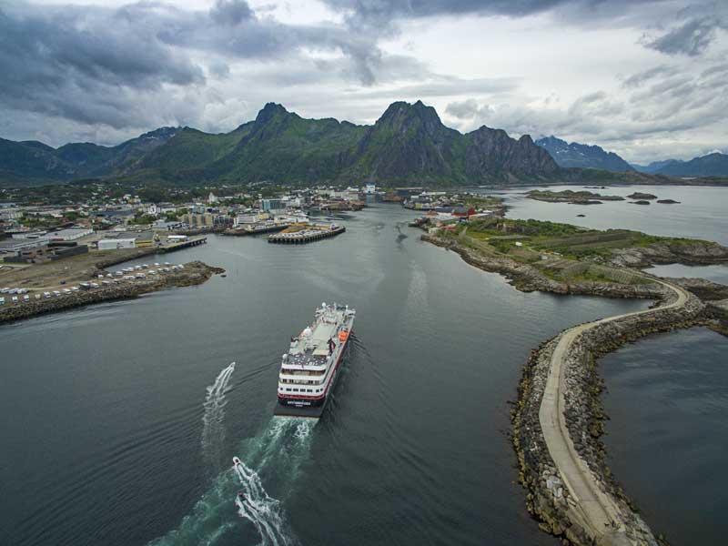 2018 Hurtigruten 7-dagen Bergen - Kirkenes