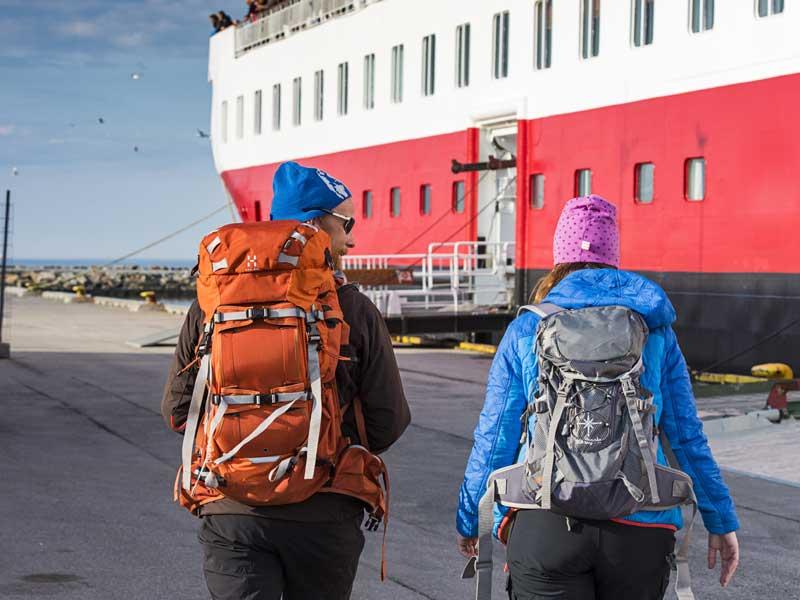 2018 12-Daagse Hurtigruten expeditie Bergen - Kirkenes - Bergen