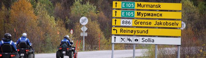 7E Kirkenes Quad-safari naar de Russische grens (07mei-06okt)
