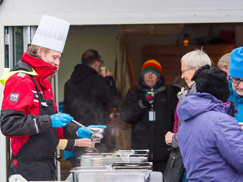 2018 6-daagse Hurtigruten expeditie Kirkenes - Bergen