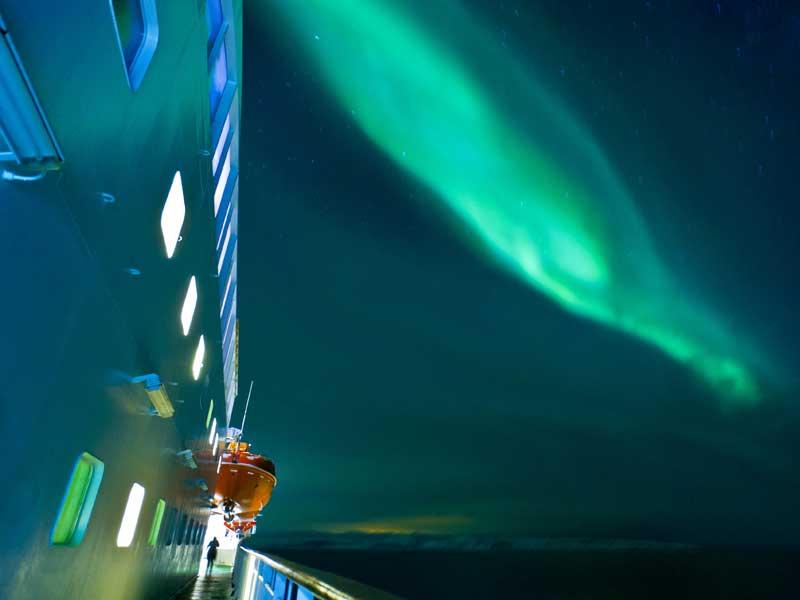 2020/21 6-Daagse Hurtigruten Noorderlicht reis Kirkenes - Bergen