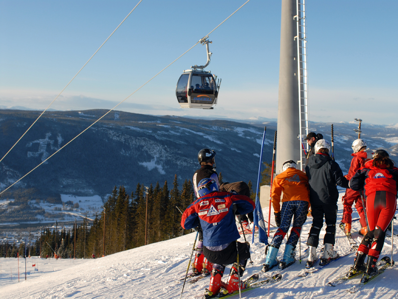 wintersport noorwegen