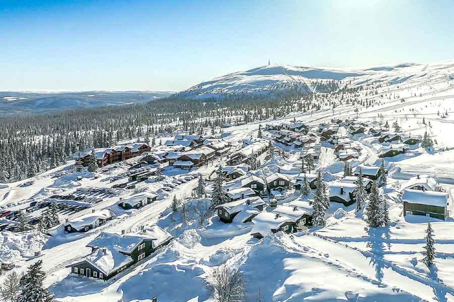 Trysil Hoyfjellssenteret privé chalets/appartementen, Trysil 2021/2022