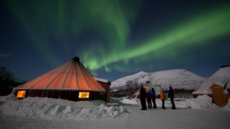 Noorderlicht avontuur in Tromsø