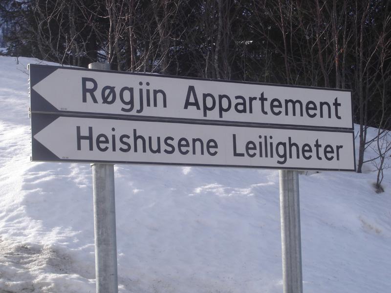 Røgjin Appartementen, Hemsedal