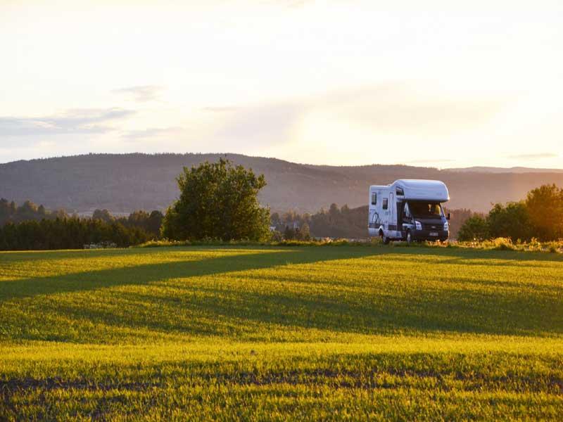 Camper arrangement vanuit Stockholm, Zweden 2021