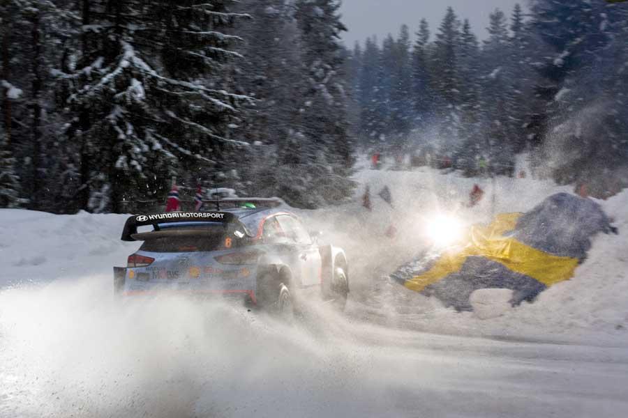 WRC Rally Sweden 2021 vluchten flydrive vanaf Groningen Airport