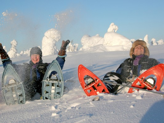 Winterfun in Fins Lapland